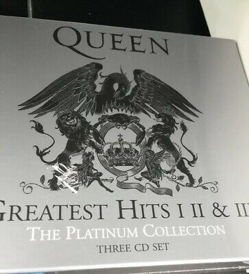 Queen ‎Greatest Hits I II & III (The Platinum Collection) (2011)3CD  NEW Sealed