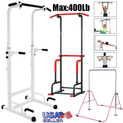 Power Tower Dip Station Pull Up Horizontal Bar Training Home Fitness Core CNY