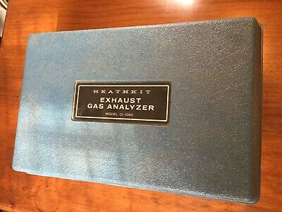 Heathkit CI-1080 Exhaust Gas Analyzer Tested Working