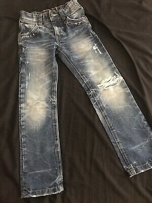 NEXT Age 6 Demin Ripped Jeans