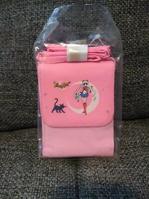 New Vintage With Tags Sailor Moon Small Purse Wallet Pink 1999
