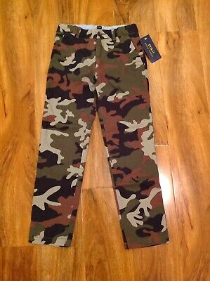 Polo Ralph Lauren Boy's Army Camouflage Chinos Trouser For 6 Years BNWT