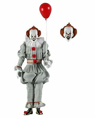 "IT (2017) - 8"" Clothed Action Figure - Pennywise - NECA"