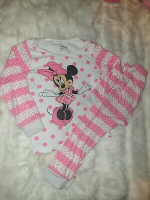 Girls 2-3 Years snuggle pyjamas top & bottoms set Disney Minnie Mouse Next Day