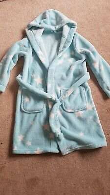 Girls M & S Dressing Gown 6-7yrs