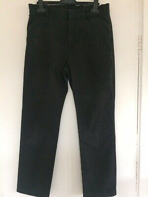 Boys Smart Adjustable Waist School Trousers From F&F Age 12-13 Years