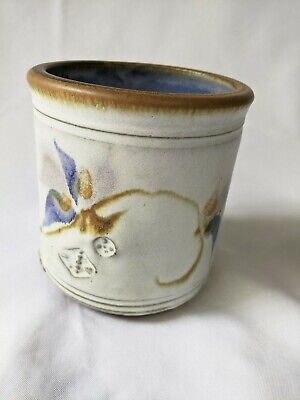 Will and Johanna DeMay JAR Handcrafted Ceramic Pottery NEW MEXICO signed CROCK