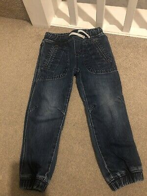 Mini Boden Boys Blue Denim Jeans Age 4 Years