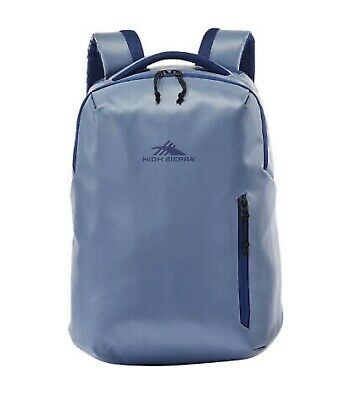 High Sierra Rossby Coated Daypack Blue Everyday Backpack NEW
