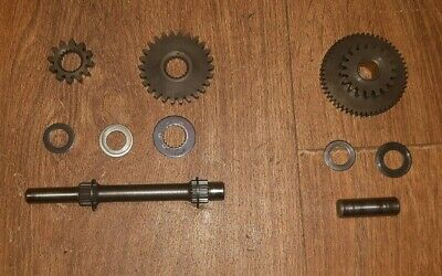 Honda ATC200ES / ATC200E / ATC200M starter reduction idler shafts & gears A&B&C