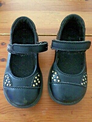 Marks and Spencer Black girls school shoes size 7