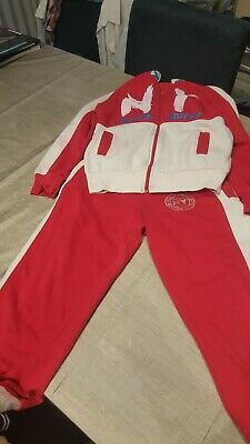 Tracksuit Top And Bottom Size 8-11 Years Old Girl