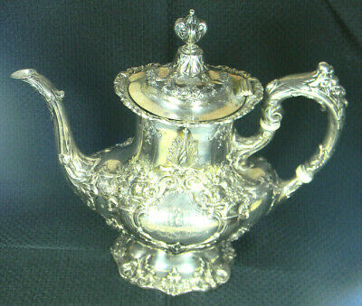 "Reed & Barton Francis IST Sterling  Coffee Pot #570 10 1/4"" NICE"