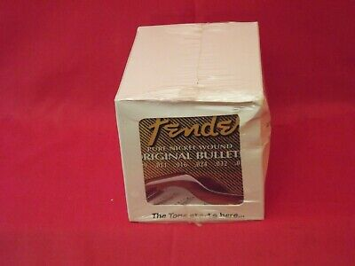 Fender Electric Guitar Strings Bullets Pure Nickel Wound .009-.042 12 Sets