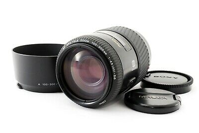 "Minolta AF APO TELE 100-300mm F/4.5-5.6 ZOOM Lens For Sony A-Mount ""Exce++"" #278"
