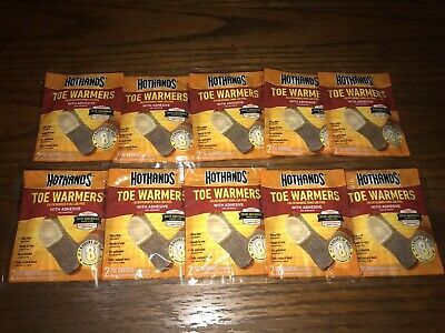 Hothands Toe Warmers Lot Of 10 : 20 PAIR Expire 1/2023