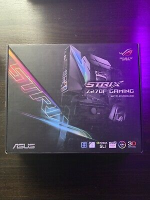 Asus ROG Strix Z270-f Gaming Motherboard