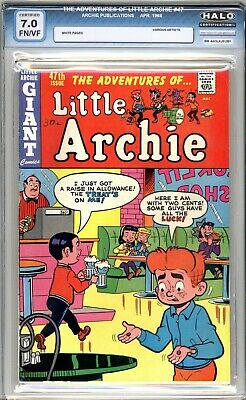 Adventures Of Little Archie #47  HALO Graded 7.0 (FN/VF) 1968 - Silver Age