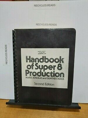 Vintage camera brochure/catalogue/guides  handbook of super 8 production 2nd ed.