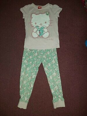 Girls Hello Kitty Pyjamas 5-6 Years