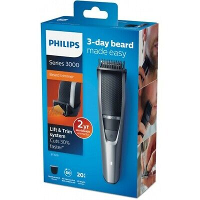 Philips BT3216/14 Series 3000 Beard & Stubble Trimmer Black