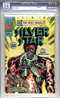 Silver Star #1 - HALO Graded 7.0 (FN/VF) 1983 - Jack Kirby - Bronze Age