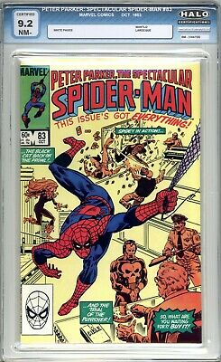 The Spectacular Spider-Man #83 - HALO Graded (9.2 NM-) 1983 - Bronze Age