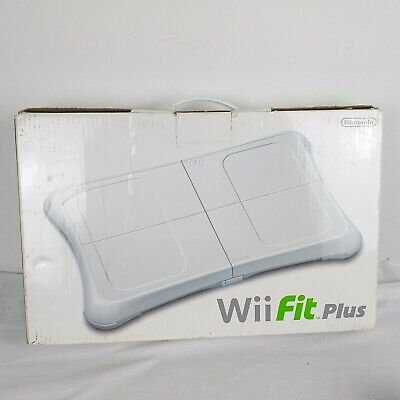 Boxed Official White Nintendo Wii Fit Balance Board Tested and Working