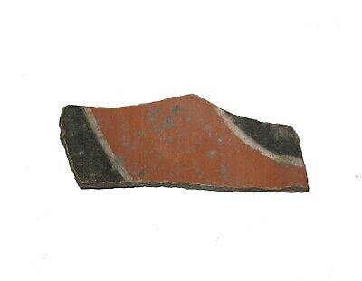 Anasazi The Lost Tribe indian pottery shard 1000 yrs old DECORATED type #A6