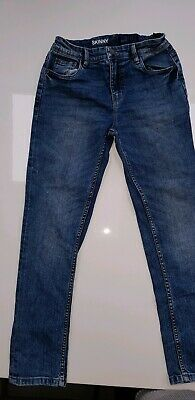 Boys NEXT Blue Skinny Jeans Age 10. Excellent Condition