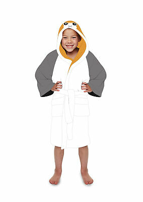 Official Star Wars Porg Kids Dressing Gown / Bathrobe (10-12 years)
