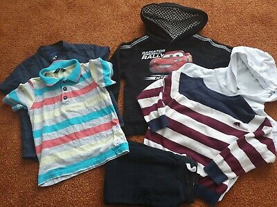 Next River Island Cars Boys Clothing Bundle 2-3 Years 6x Clothing