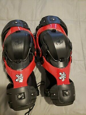 Asterisk Cell knee braces ,sz Med/LG used condition but totally functional! NICE