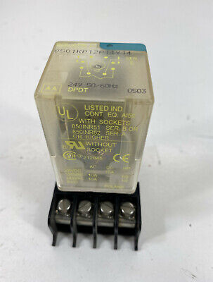 Square D 8501KP12P14V14 24V Relay