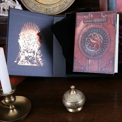 Official HBO Game of Thrones FIRE AND BLOOD Targaryen Journal Note Book Dragon