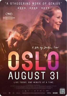OSLO,  AUGUST  31     film    poster.