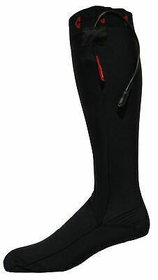 Gyde-Powered by Gerbing 12V Heated Socks - Black & Red / Small
