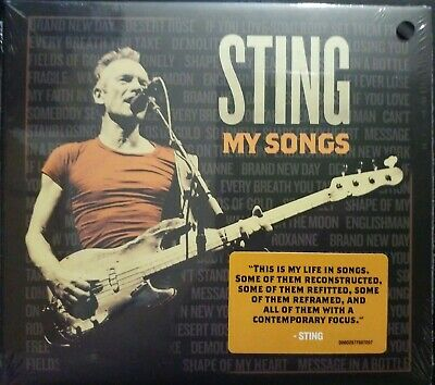 My Songs - Sting ( CD Album) New and Sealed