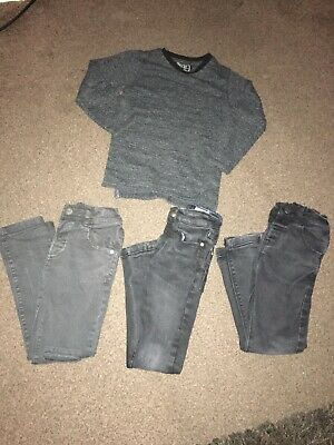 Next Boys Skinny Jeans And Jumper Bundle Age 3-4 Years