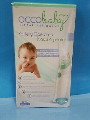 OCCO Baby Nasal Aspirator - Safe Hygienic and Quick Battery Operated Snot Sucker
