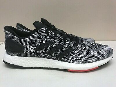 NEW Adidas PureBoost DPR BOOST Men's Running Shoes Core Black White Red S80993