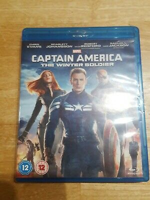 Captain America : The Winter Soldier (Blu-ray) Chris Evans Marvel Studios