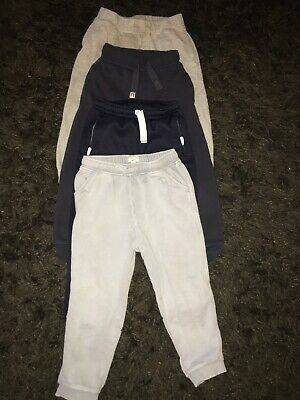 Boys Joggers Bundle Age 3-4 Years Inc Next & River Island