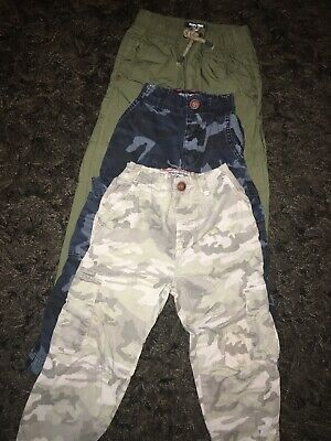 Boys Next Cargo Trousers Bundle Age 3-4 Years