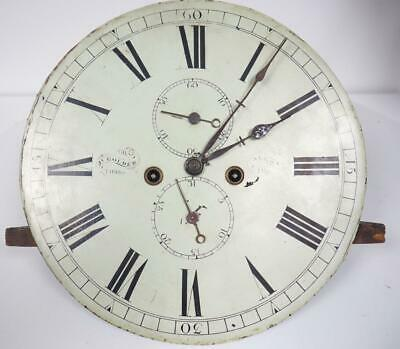 Longcase Clock Movement Scottish Grandfather Clock 14 Inch Round Dial & Hands