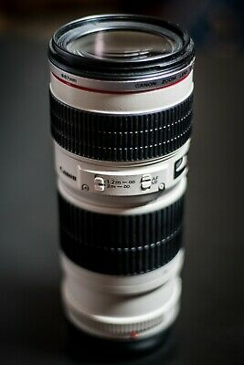 Canon EF 70-200mm F/4 L USM Lens- Extremely good condition