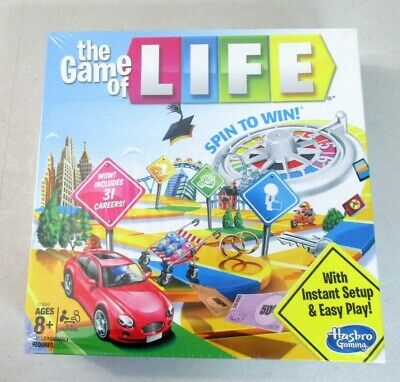 Hasbro Gaming The Game of Life Board Game Ages 8 & Up 9176 []