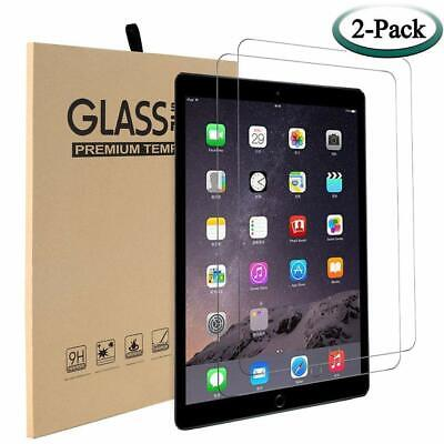 For Apple iPad Screen Protector 2 PACK iPad Air 3 10.5 Pro Tempered Glass