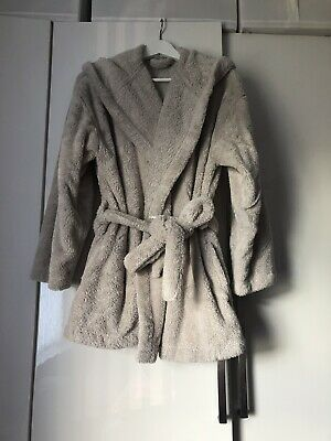 Ladies M&S Dressing Gown Short Coat With Ears Size 16-18