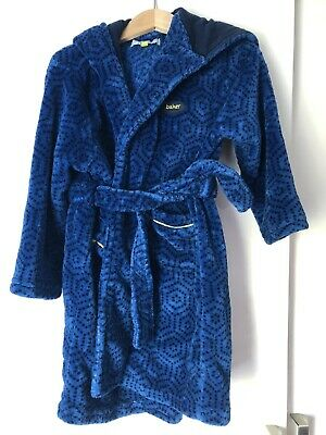Ted Baker Blue Boys Dressing Gown Age 3-4